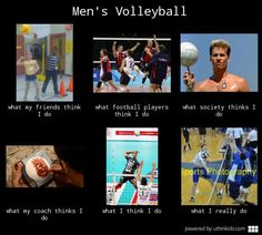 Men's volleyball.  #volleyball