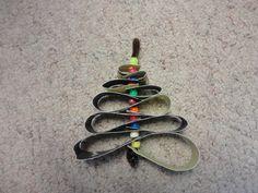 looped tree ornament
