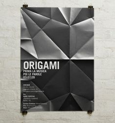 Origami poster