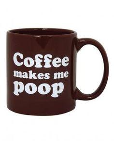 Attitude mug coffee makes me poop Oversized 22 oz Gag Gift Mug,Funny Coffee Mug on eBay!