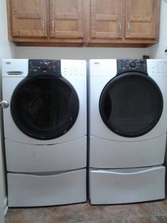 front loading washer and dryer - $400 (Marion)