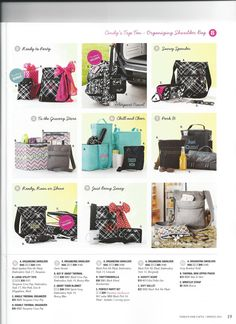 Love all the new Thirty-One Spring 2013.
