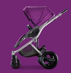 100% Stylish. Britax Affinity Stroller in Cool Berry. #bold #radiantorchid #baby