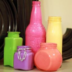 WIP Blog: Upcycled Vases