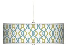 Drum Pendant Light - The High/Low Shopping Guide on HGTV