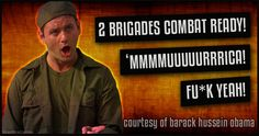 Great News! 'Murica Only Has Two Brigades Combat Ready! - Blur Brain