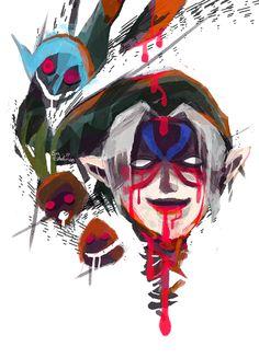 Night of Living Masks by nayruchan #Majora