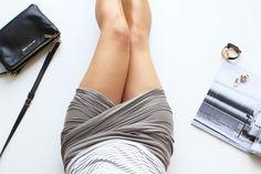 Free Series | DIY -  Easy Peasy Wrap Skirt