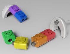 Rotating Lego Sockets @jeffbond