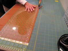 Tips for cutting fabrics for a quilt