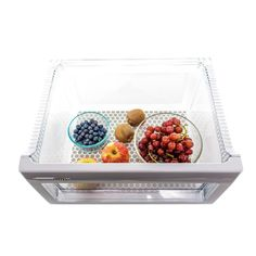 Place Large Bin coasters in your crisper bins to provide a breathable barrier between your fresh produce and the plastic bin allowing fruits and veggies to stay fresh longer!