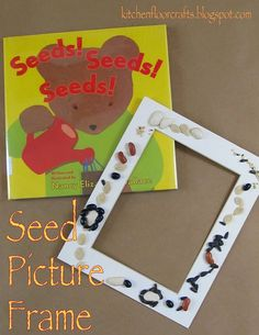 Kitchen Floor Crafts: Quick Pick & Project of the Week: Seeds! Seeds! Seeds! Picture Frame