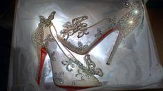 Louboutin's Cinderella slipper ..