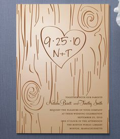 Cute wedding invites