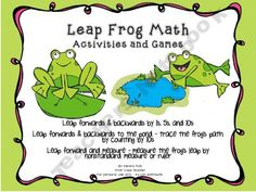 Common Core Leap Frog Math - Leap by 1s, 5s, 10s