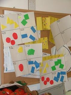 Great way to learn numbers and shapes