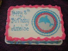 Ocean or Dolphin Themed Party idea