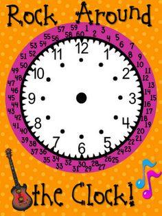 Telling Time to the Minute (free download/printable)