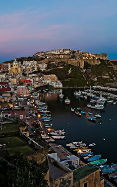 Escape to the island of Procida near Naples