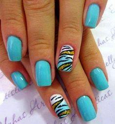 nail art2014, creativ nail, zebra glitter, nail arts, nice color, accent nail