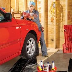 Regular oil changes prolong the life of your car. Save time and money by doing this 20-minute job yourself. And you'll know that it was done right!
