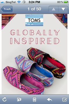Toms Globally Inspired Color