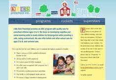 Little Kids Preschool  Designer: Jeff Wain