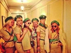 The gang from Troop Beverly Hills
