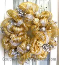 Deco Mesh Wreath Ideas | Holiday Deco Mesh Wreaths | Southern Charm Wreaths