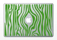 Green faux bois.