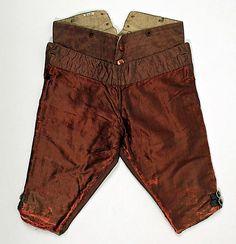 Breeches Date: ca. 1710 Culture: European