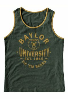 #Baylor tank. #SicEm