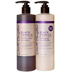 Black Vanilla Moisturizing Hair Duo