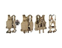 Yates - Special OPS Full Body Harness -- Need to design a full harness like this.