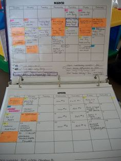 Blogging Binder ideas