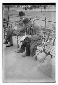 In Union Sq. (LOC) by The Library of Congress, via Flickr