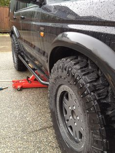 Fitting Terrafirma rock sliders to my Land Rover Discovery II