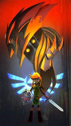 Link, Zelda, and Ganondorf