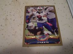 2013 Topps 72 Jairus Byrd Gold Border Parallel Card Numbered 2013 Buffalo Mint | eBay