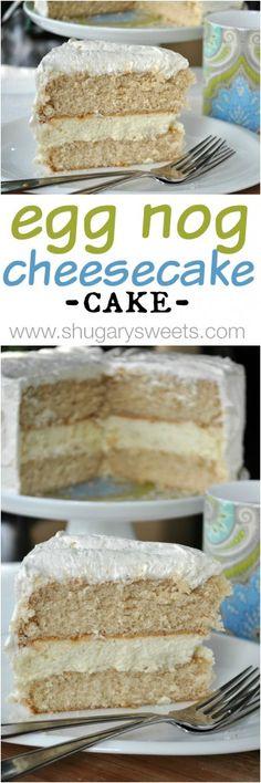 Eggnog Cheesecake Ca
