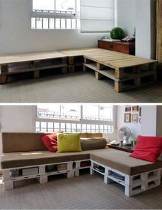 Cool couch! Upcycled
