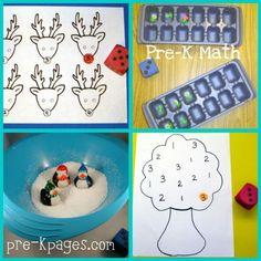 Pre-K Math Centers — Pre-K Pages
