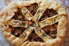 Bacon, Browned Onion, & Camembert