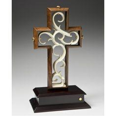 Unity Cross-- Designer Reserve Collection Polished Dark Maple