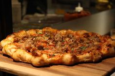 Pizza at Gather (San Francisco, CA). #UniqueEats #pizza