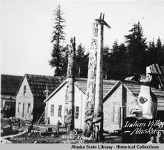 Indian Village, Alaska. :: Alaska State Library-Historical Collections
