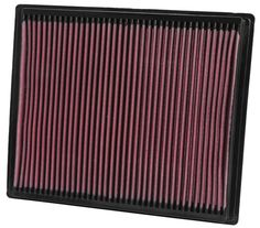 K & N 33-2286 Replacement Air Filter. K & N replacement air filters come with a million mile limited warranty. Their low restriction design helps your car run better as they provide outstanding air filtration.