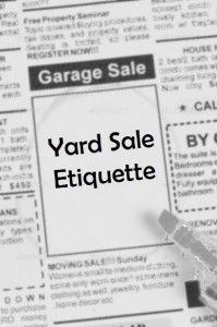 Yard Sale Etiquette: A How To Guide