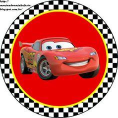 LARGE SET-- Montando a minha festa: Carros da Disney