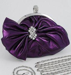 Purple Patent Clutch